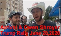Recorded Live Stream of Trump Rally 2020 Downtown Tulsa, Oklahoma