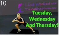 Tuesday Or Wednesday or Thursday Workout