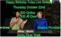 Tulsa Live Stream One Year Anniversary Celebration